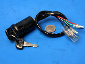 Ignition switch 5 wire Honda CG125 Brazil 735036 [Honda CG125 735036 ...