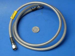 1000mm Buildaline stainless steel brake hose SB31000CL