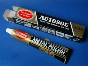 Autosol brilliant chrome aluminium and metal polish cleaner