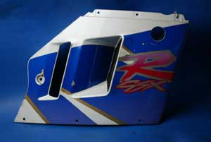 Fairing Panel right mid section Suzuki GSXR1100 used