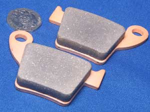 Brake pads Gold Fren 176 equivalent to FA346 new