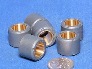 Variator rollers 19  by 17 x 13.5 grammes set of 6