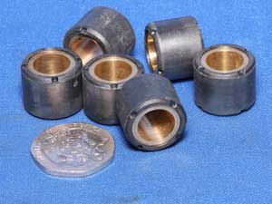 Variator rollers 16 by 12g set of 6 used