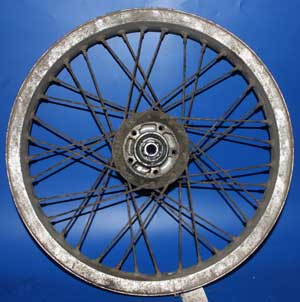 CB250RS front wheel used