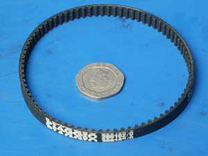 Oil pump drive belt pattern replaces 296162