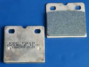 FA18HH Sintered brake pads new