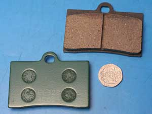 Brake pads same shape as FA95 genuine pgo