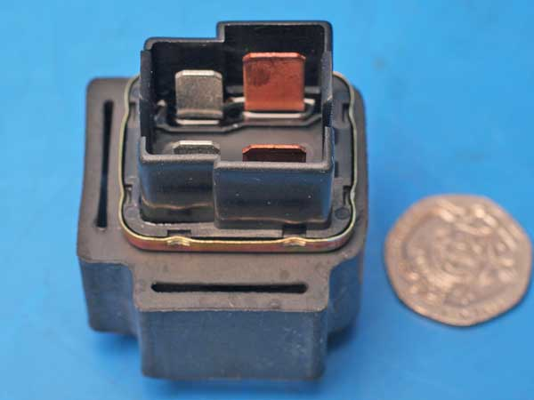 Starter relay Heavy duty 4 parallel pins