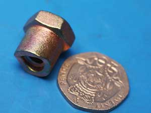 Nut for  brake rod or cable brake trunnion nut
