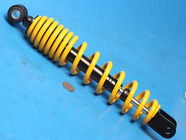 Aprilia SR50 rear shock absorber new 295mm eye to wide fork