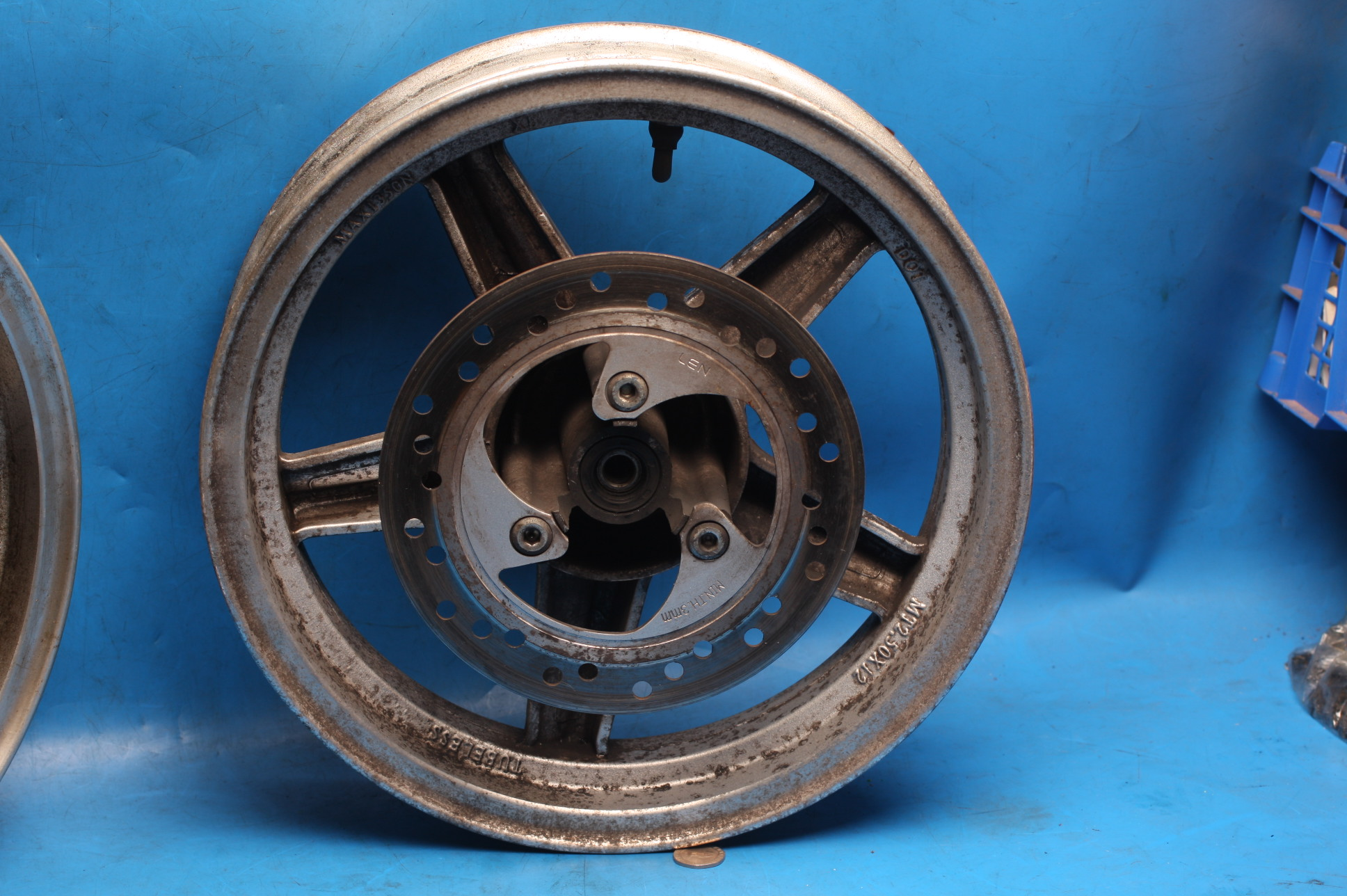 front wheel with disc used for DB125