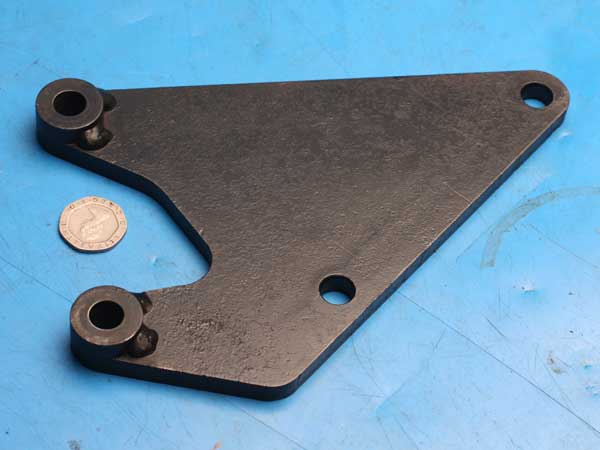 Rear caliper mounting bracket Norton Commander