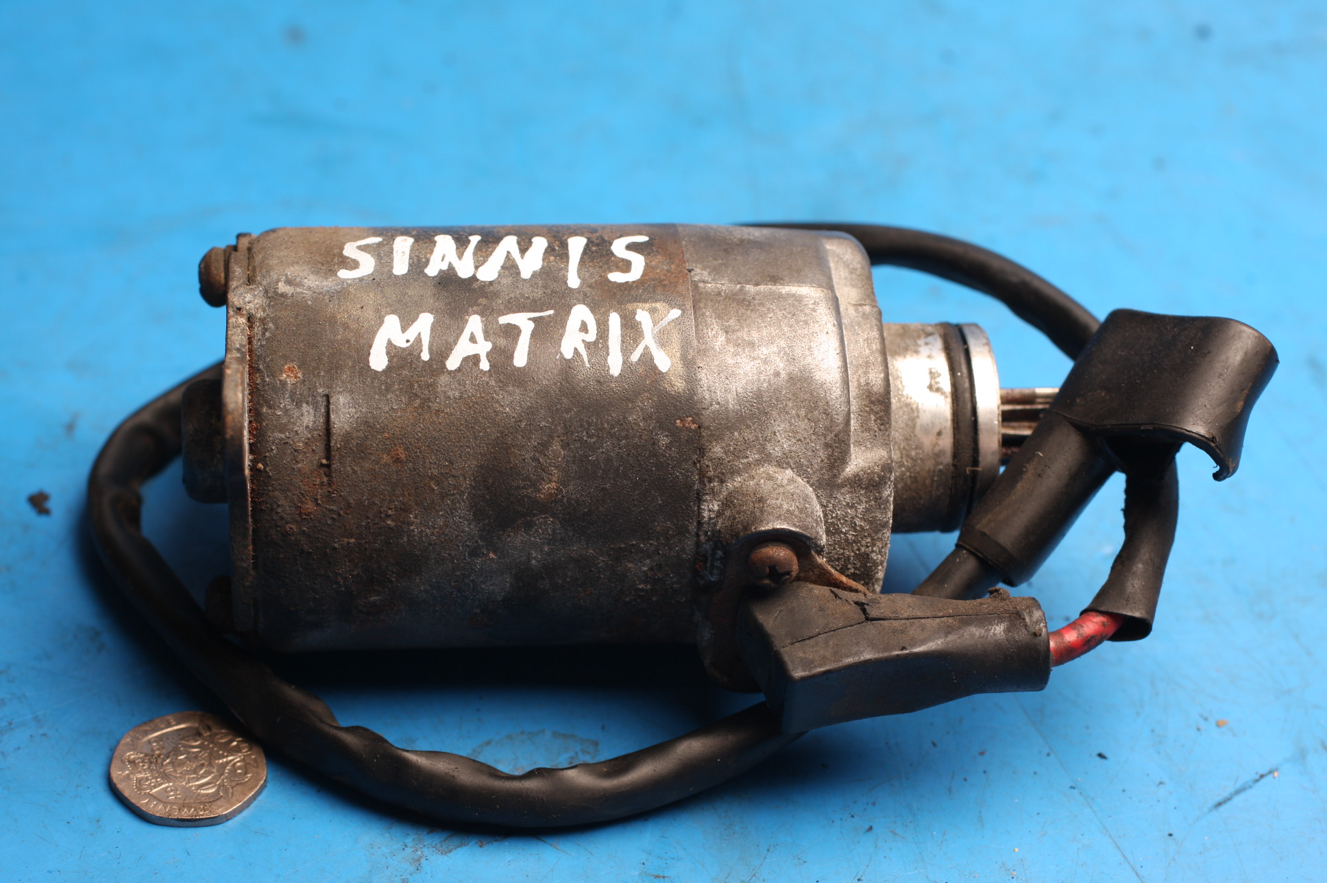 starter motor used Sinnis Matrix2