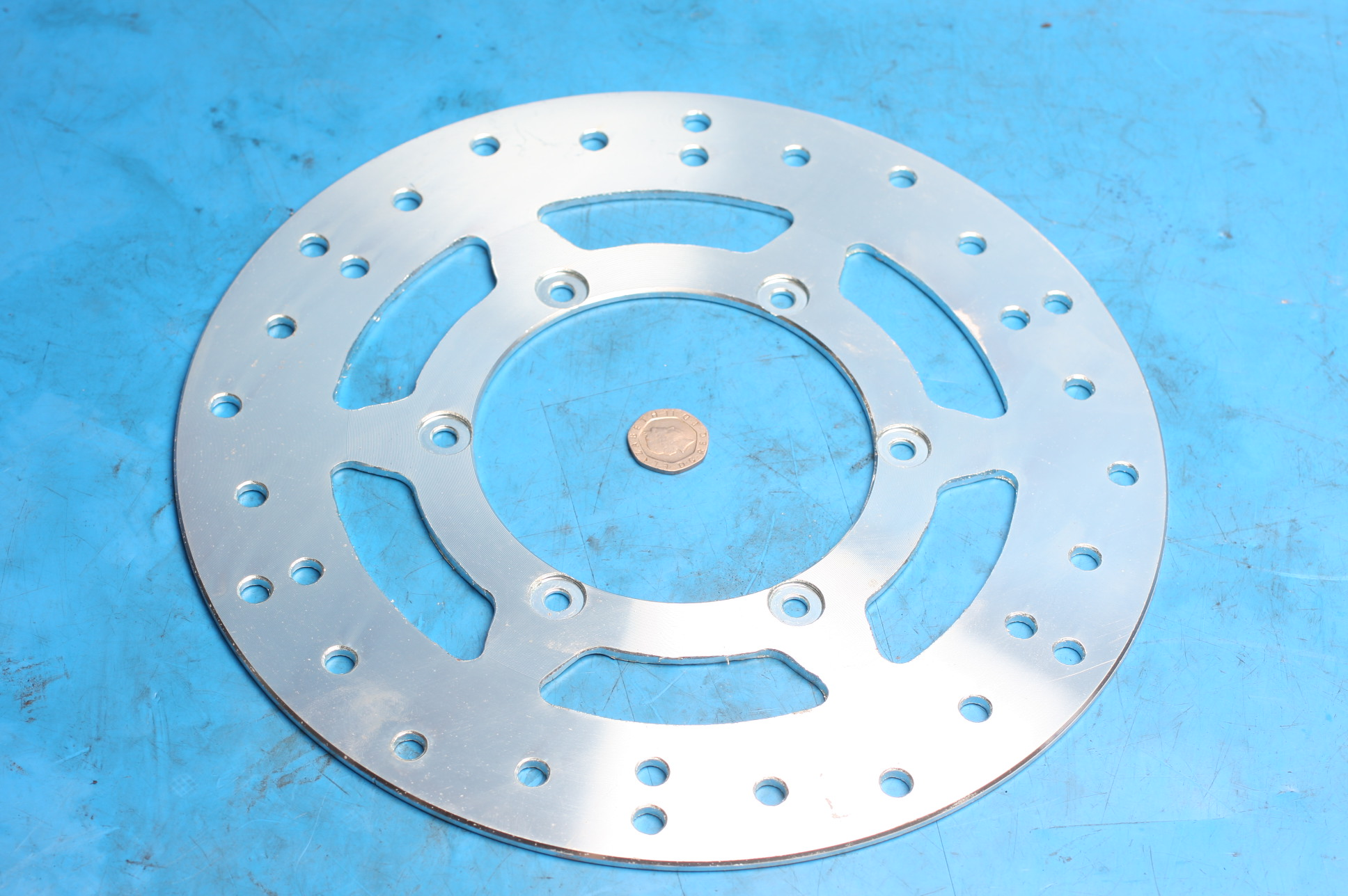 Brake disc front 2020-1703 new
