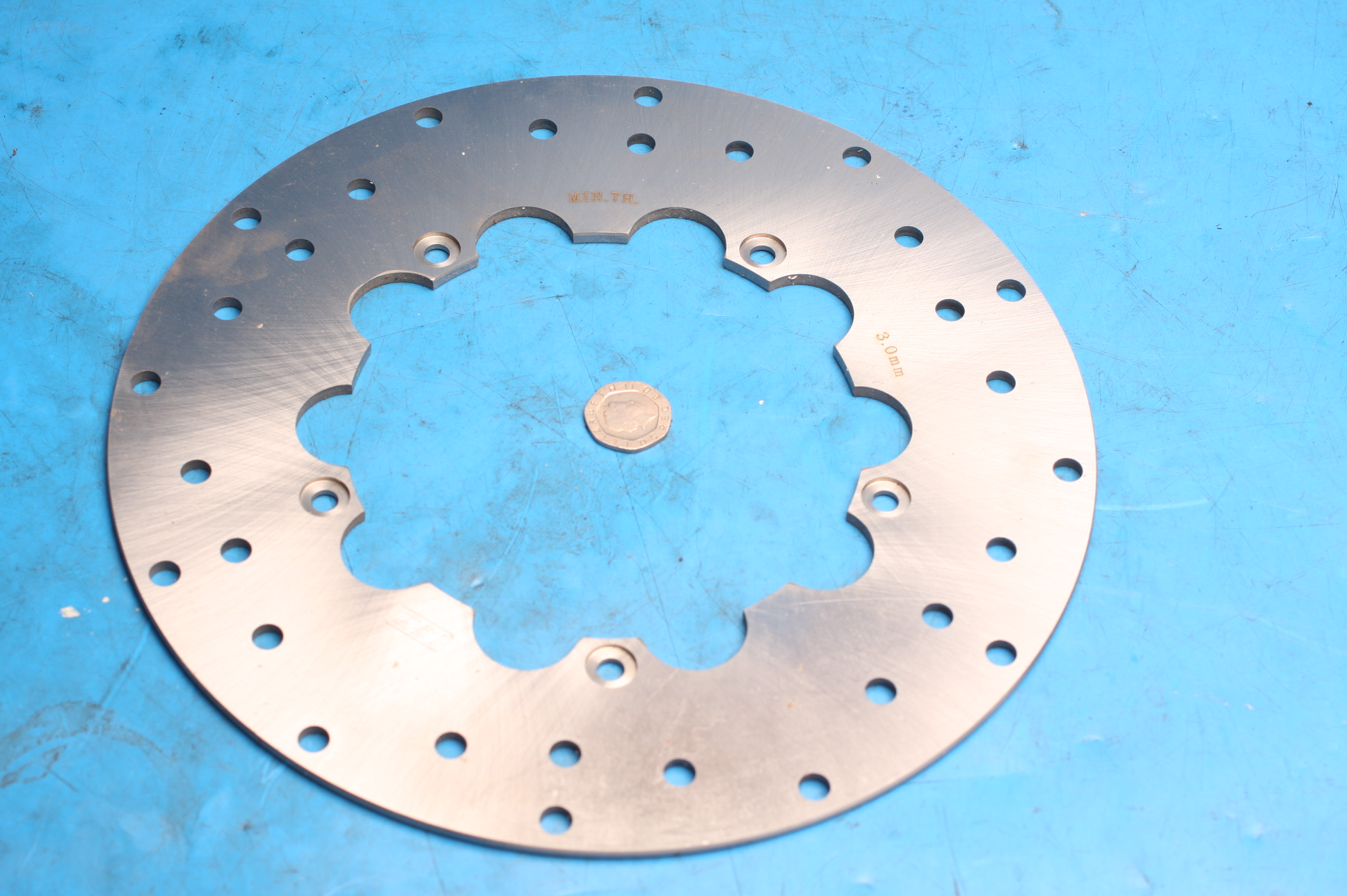 Brake disc front 2009-0613 new