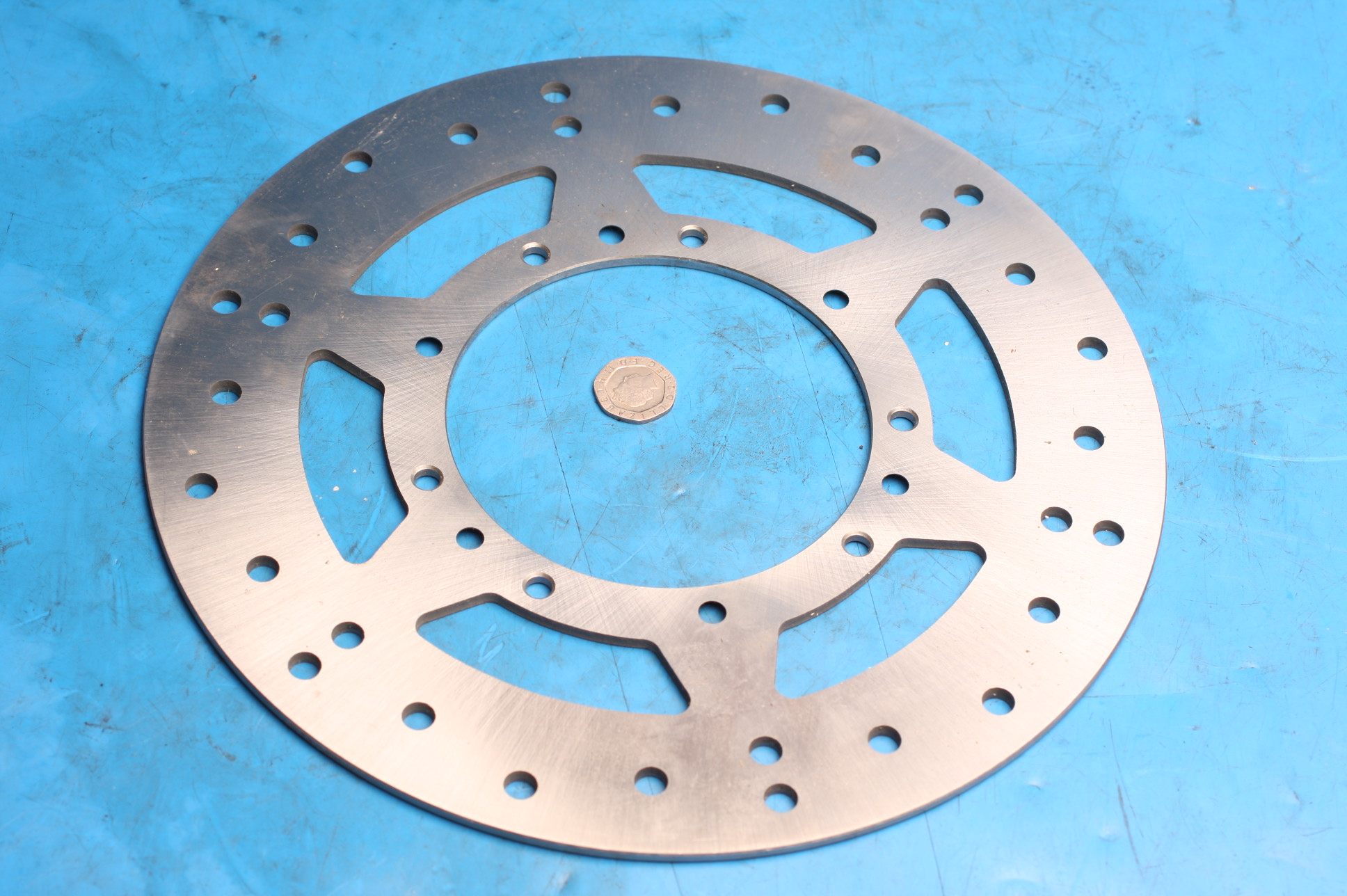 Brake disc front 2020-1711 new