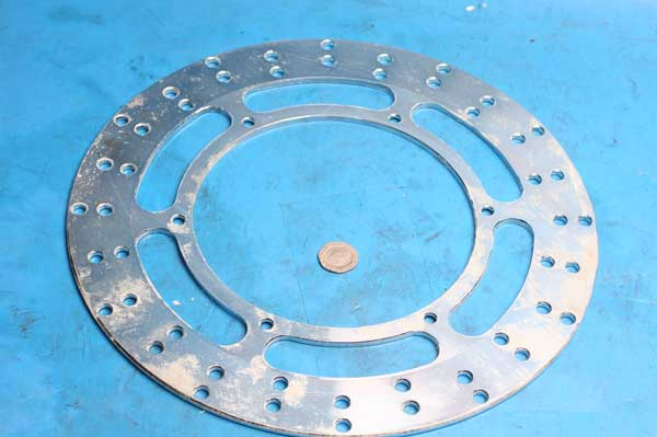 Brake disc front 2001-0021 new shop soiled