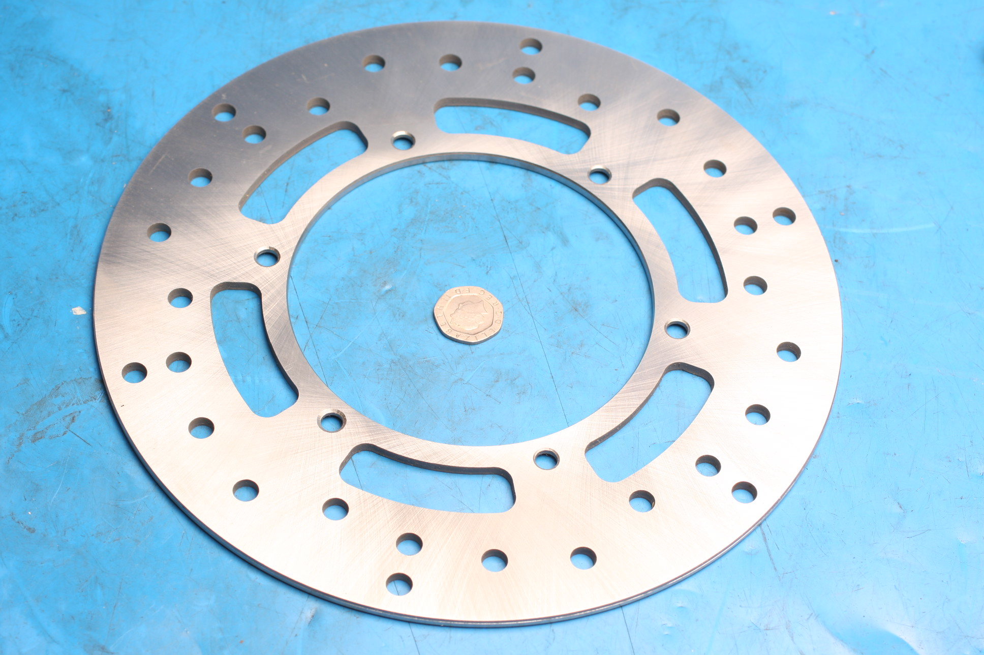 Brake disc front 2001-0025 new