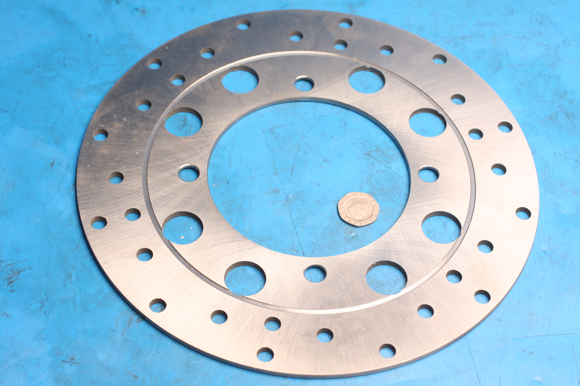 Brake disc front / rear 2010-0727 new