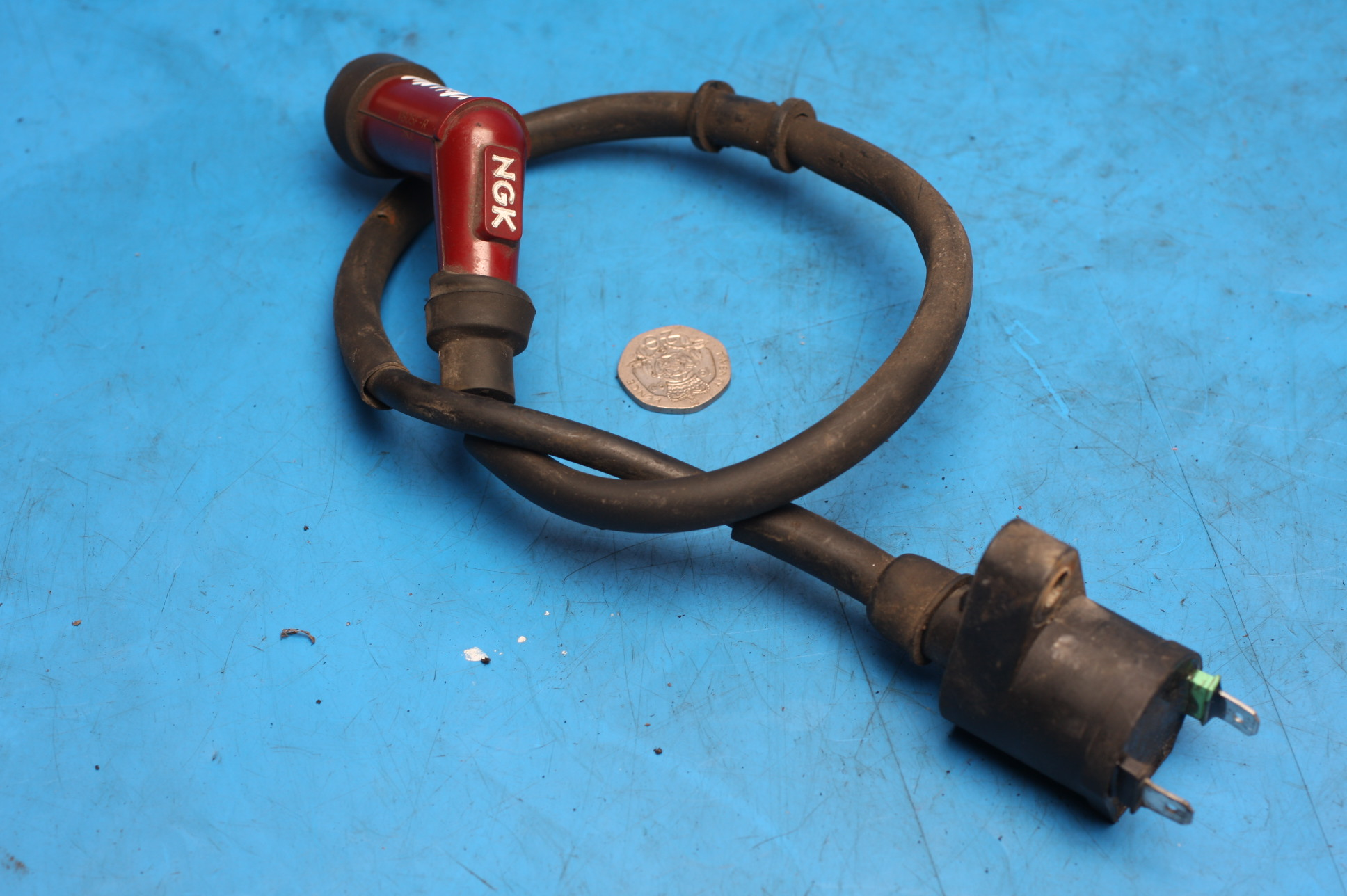 Ignition coil with HT lead and cap used Sinnis Matrix2