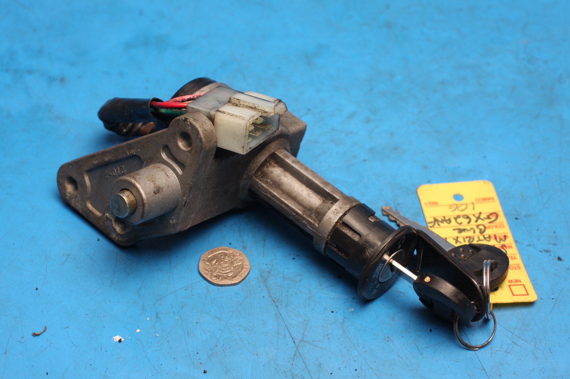 Ignition switch used Sinnis Matrix2