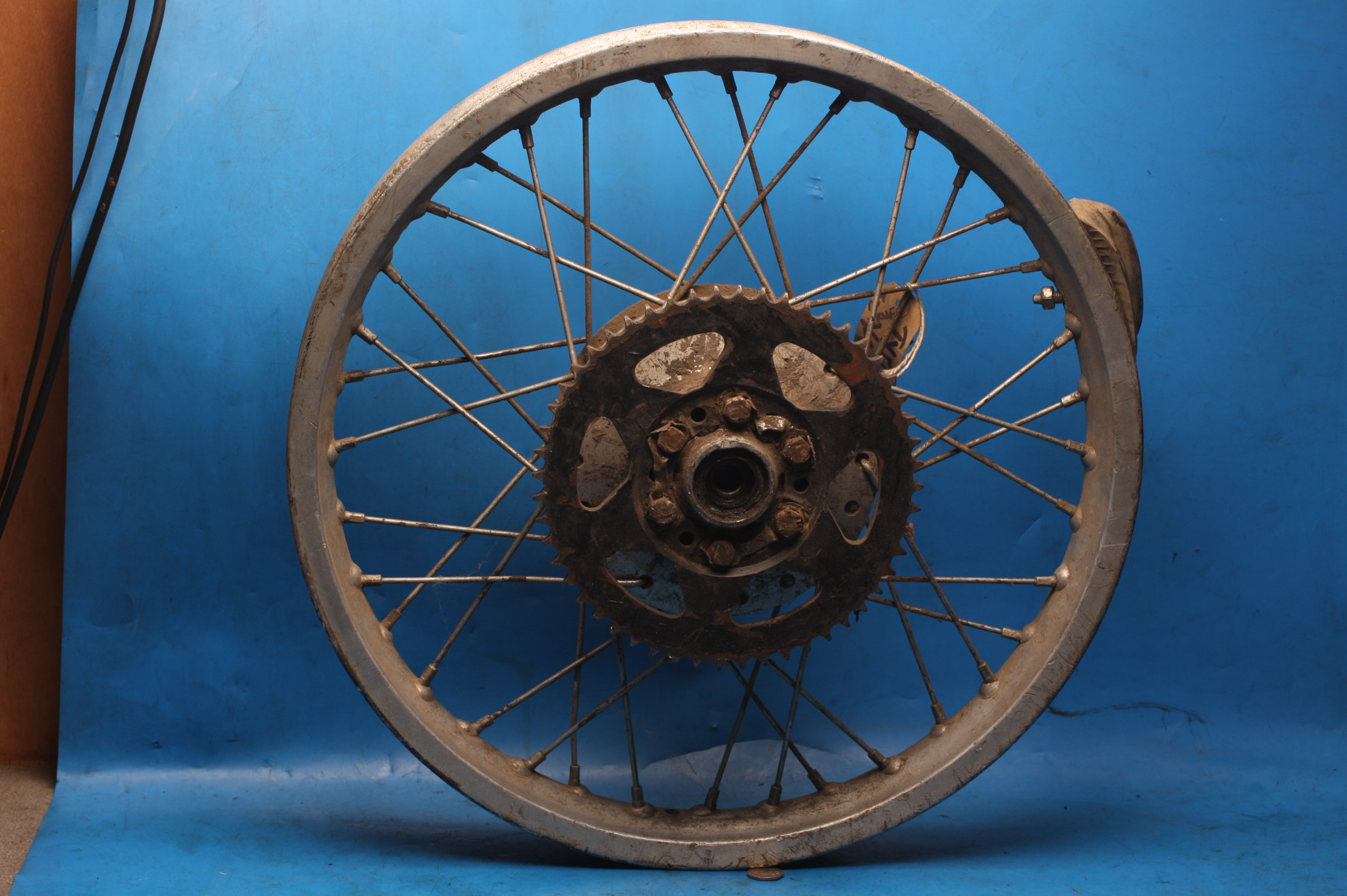 Rear wheel Alloy Used Yamaha TY175