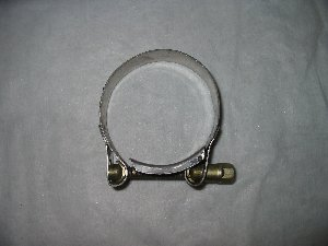 Exhaust clamp 55- 59 mm