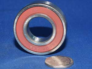 6004 2RS Wheel bearing front left hand