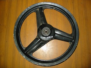 Front wheel used Derbi GPR50