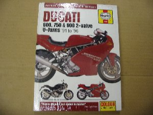 Ducati 600 750 900 2 valve twins workshop manual 3290