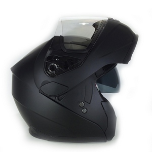 3GO E225 Flipup Helmet Black matt Large New