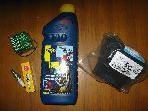 Service kit including Air filter Hyosung XRX125