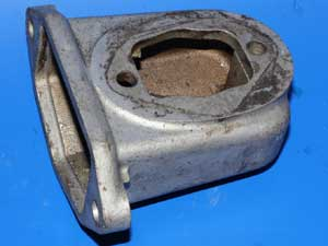 Carburettor inlet manifold left hand Norton 50-0146 used