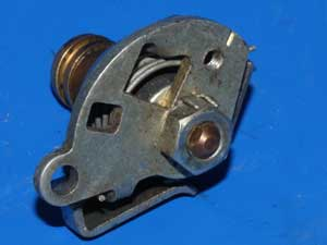 Carburettor choke assembly left hand S.U. for Norton used