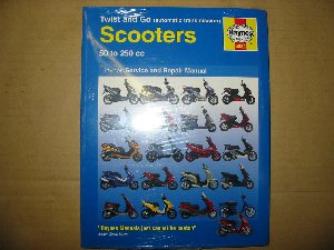 Scooter manual Haynes HM4082