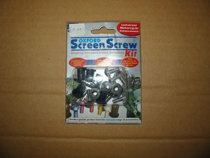 Screen Screw kit Chrome Oxford