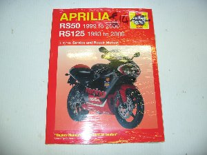 Aprilia RS125 RS50 Workshop manual