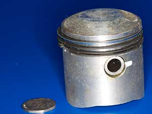Honda C90ZZ piston 1.0mm oversize 19821