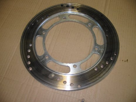 Rear brake disc replaces 31A-25831-51