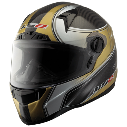 Full face LS2 FF385.65 CT2 Desire Carbon fibre helmet large