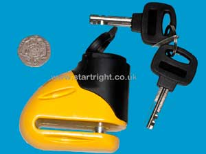 Trigger Motorcycle Disc Lock 5.5mm
