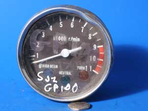 Rev counter Tachometer Suzuki GP100