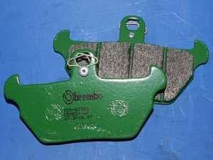 Vesrah Sintered brake pads equivalent to FA407 new