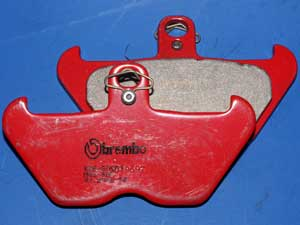 07 BM06 SA Brembo Sintered brake pads equivalent to FA407 new