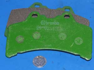 07.YA31.08 Brembo Brake pads equivalent to FA191 new