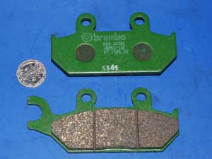 07.YA25.08 Brembo Brake pads same shape as FA172 new