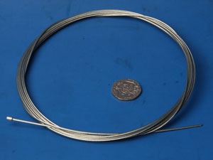 Throttle cable inner wire 2m long VE00102 new