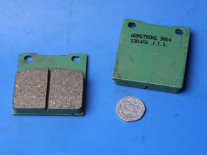 Armstrong brake pads same shape as EBC FA45 new