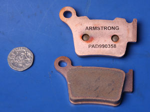 Armstrong off road pads same shape as EBC FA368 new