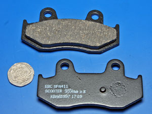 Newefren S2 sintered pads/SFA412 Scooter brake pads new